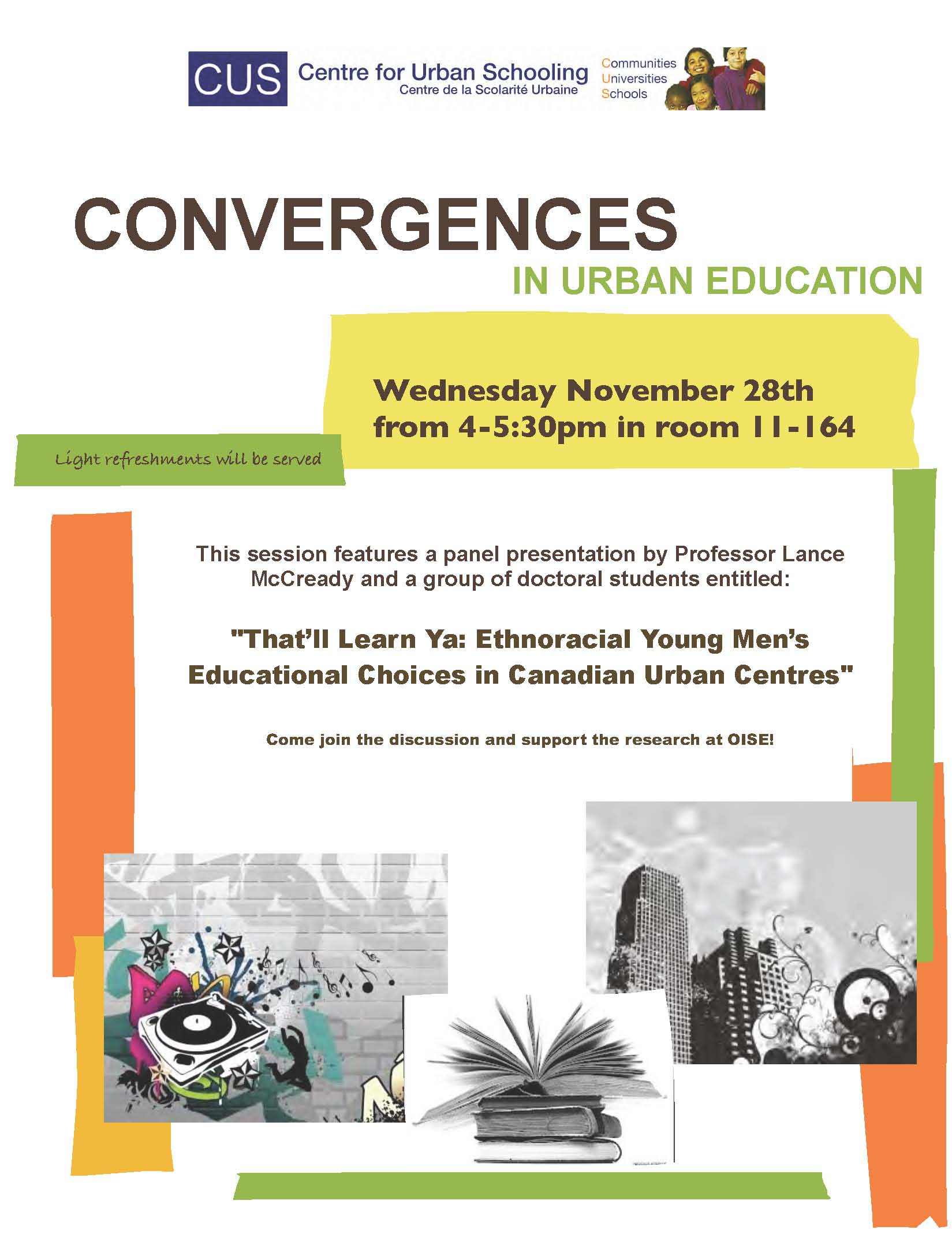 Convergences in Urban Education